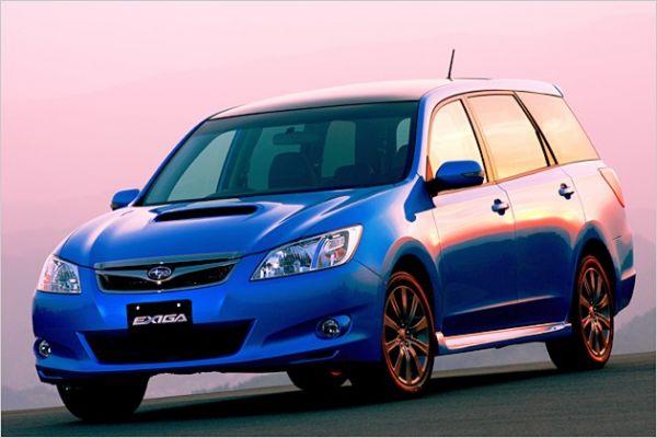 Rinkoje pasirodė naujas septynvietis Subaru