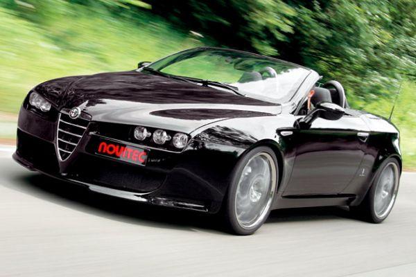 Gražuolis Alfa Romeo Spider