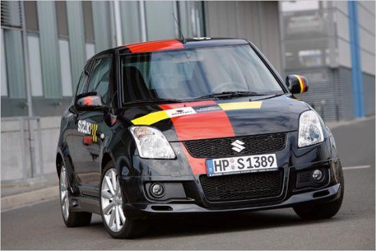 """Suzuki pristato specialų modelį Swift Sport """"Rallye N'Style"""""""