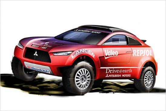Mitsubishi 2009 metų raliui Dakare ruošia naują transporto priemonę