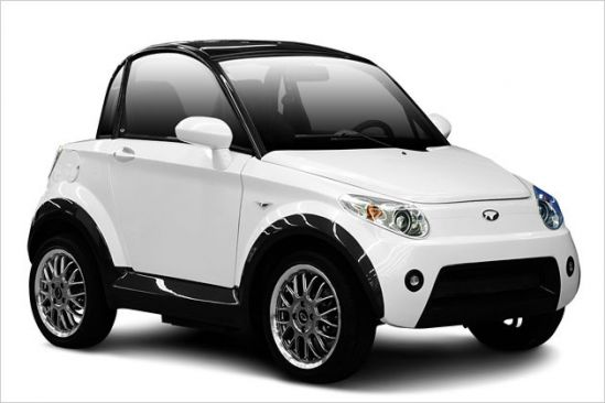 MyCar: Nice pristato patrauklų elektromobilį skirtą dviem asmenims