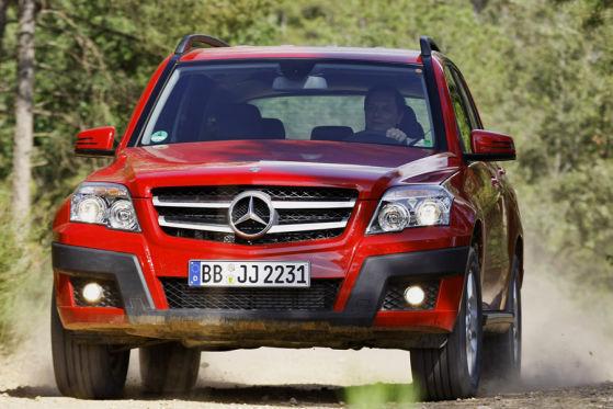 Mercedes GLK – kalnų erelis