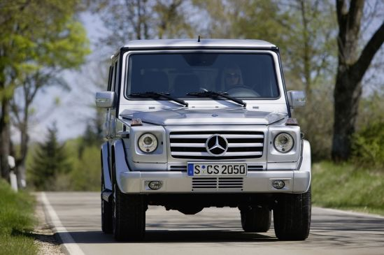 Mercedes-Benz G- klasės atnaujinimas
