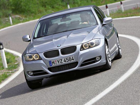 """BMW 3-os serijos """"facelift"""""""