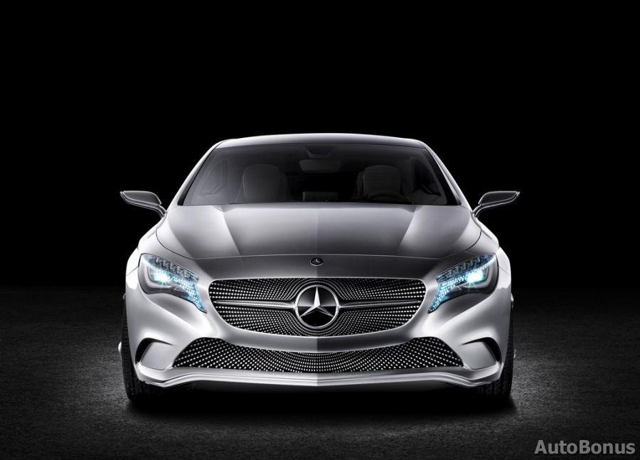 Mercedes-Benz atveš į Šanchajų A-klasės konceptą
