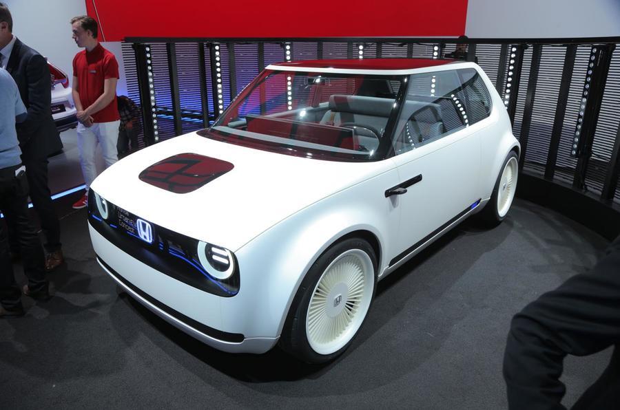 Женевский автосалон презентует хэтчбек Honda Urban EV