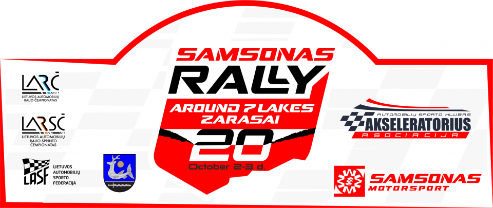 Samsonas Around 7 Lakes Rally 2020