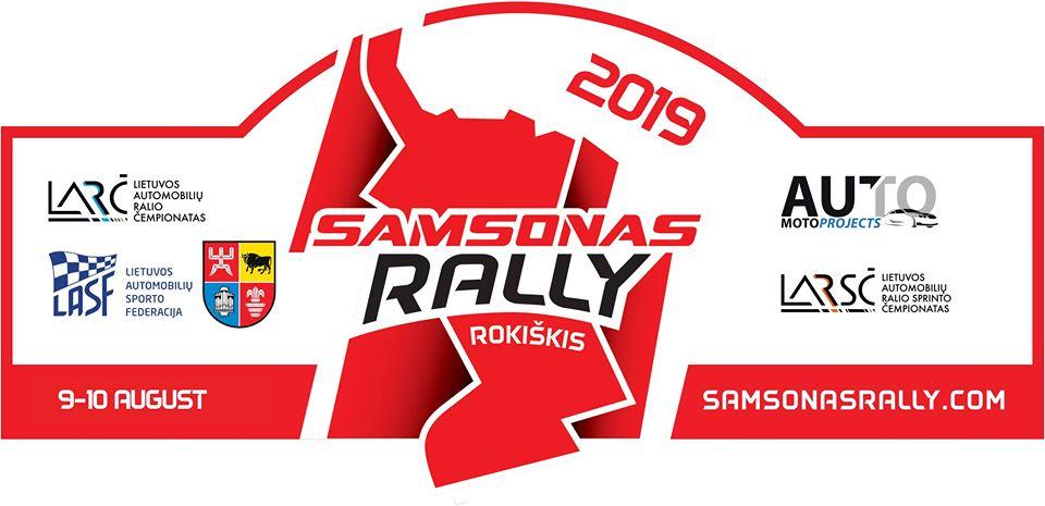Samsonas Rally Rokiškis 2019