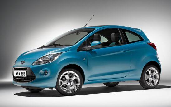 Naujas Ford Ka modelis