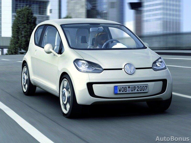 up! от концерна Volkswagen признан лучшим автомобилем 2012 года.