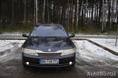 Renault Laguna, Hečbekas, 2002-12