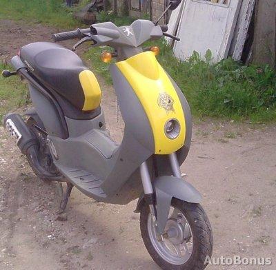 Peugeot, Mopedas/Motoroleris, 2004